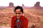 summertime brings out young Navajos to make some summer money posing
