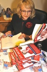 Jan Brewer signs her new book Scorpions forBreakfast