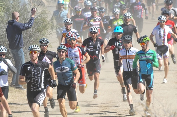 24 HOURS IN THE OLD PUEBLO MOUNTAIN BIKE RACE FIELDS ALMOST 2000 RIDERS WITH A RUNNING START