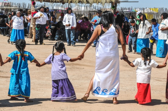 "THE ""WE CHILDREN"" DANCE GROUP IS MADE UP OF DANCERS FROM EACH VILLAGE OF THE 6TH DISTRICT"