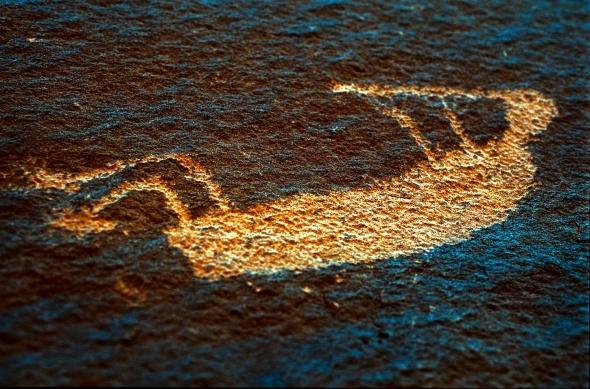 CHINLE WASH, NORTHERN ARIZONA ON THE NAVAJO RESERVATION