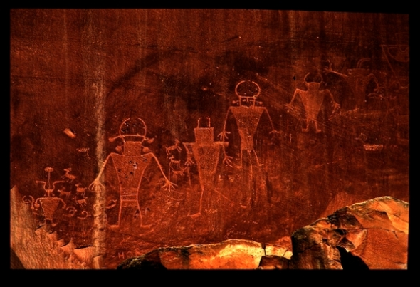 FREMONT CULTURE ROCK ART AT CAPITOL REEF NATIONAL MONUMENT