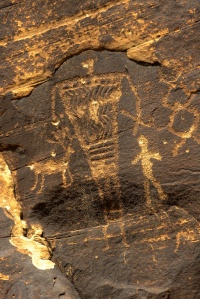 VERY SIMILAR TO ROCK ART FOUND ALONG THE SAN JUAN RIVER IN UTAH