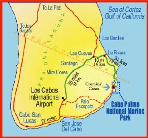CABO PULMO MAP
