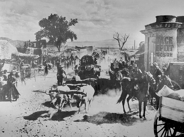 Arizona was the first movie filmed at the new Old Tucson Movie Set