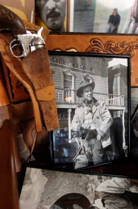 Among thousands of artifacts, photos and posters is a signed photo of Robert Taylor.