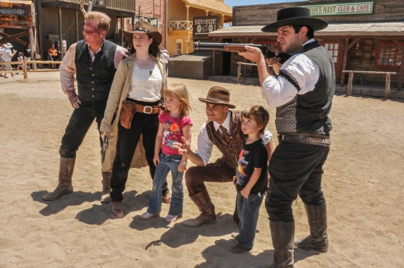 OLD TUCSON KEEPS THE OLD WEST ALIVE