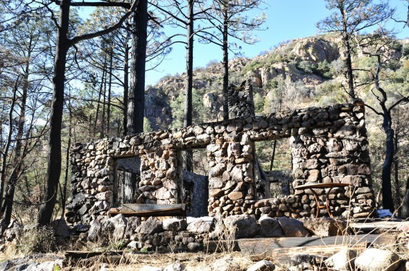 Cabins built 50 years ago had survived unscathed for a half century and then the fire came in the Chiricahua Mountains in southeast Arizona