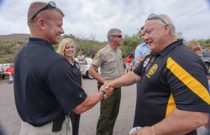 Russell Pearce has lots of friends in the Pinal County Sheriff Depts top administration.