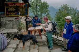 ANNAPURNA TRAIL CHECKIN-