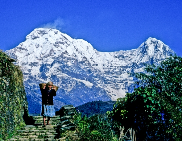 Road to Annapurna Nepal2_