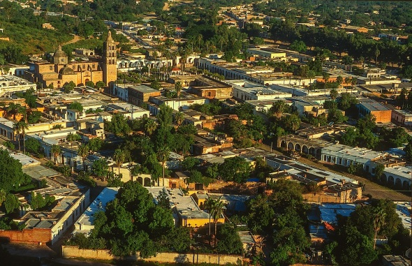 ALAMOS, HOME TO THE SILVER USED TO DEVELOP PORTS LIKE SAN DIEGO, LOS ANGLES AND SAN FRANCISCO.