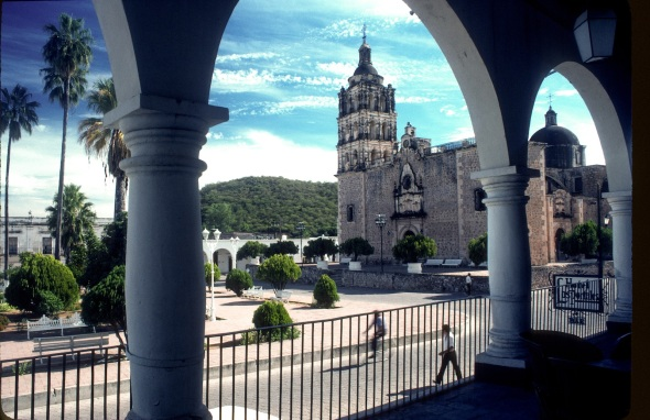 ALAMOS IS A COLONIAL CITY RICH WITH GHOST TALES AND STORIES OF LOST SILVER.