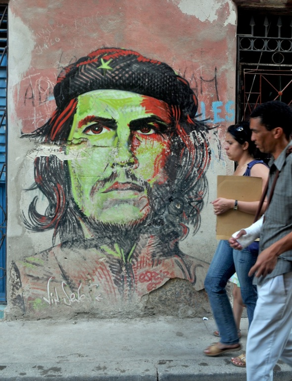 CHE STILL WATCHES OVER