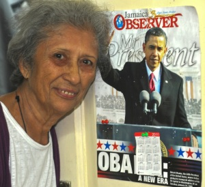 SENORA RAUDELINA RODRIQUEZ LEYVA WAS MY HOST IN HAVANA. SHE IS A HUGE SUPPORTER OF BARACK OBAMA