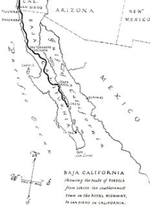 Baja California mission trail