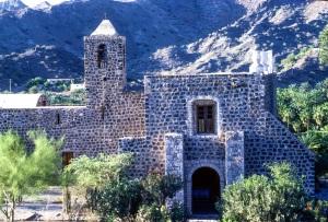 Misión Santa Rosalía de Mulegé - in Mulegé