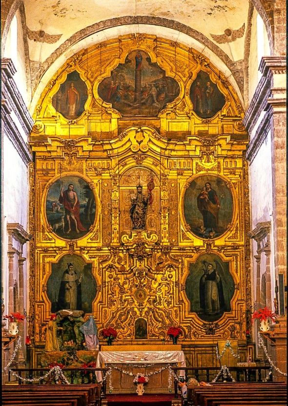 SAN IGNACIO ALTAR STILL DISPLAYS 17TH CENTURY ART