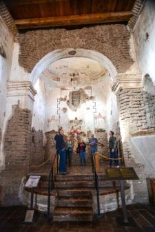 Altar area of Tumacacori