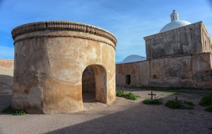 The first mortuary chapel was built at Tumacacori perhaps signals the realization that germs were killing people.