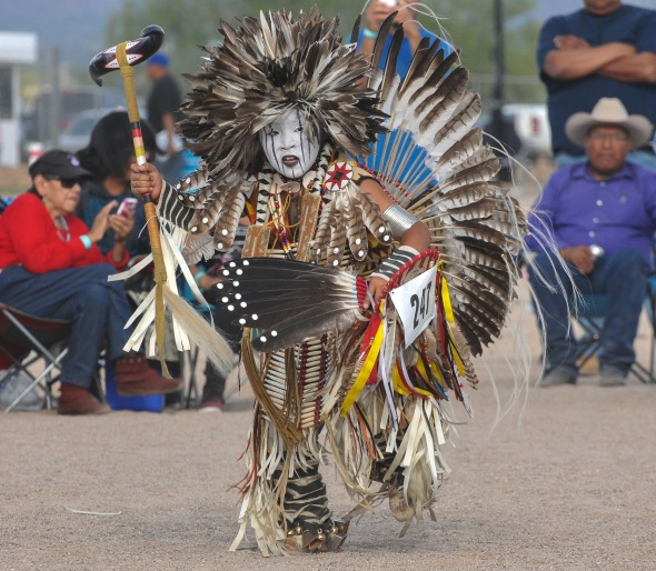 GARRETT CAYADITTO FROM NEW MEXICO DANCES NORTHERN TRADITIONAL