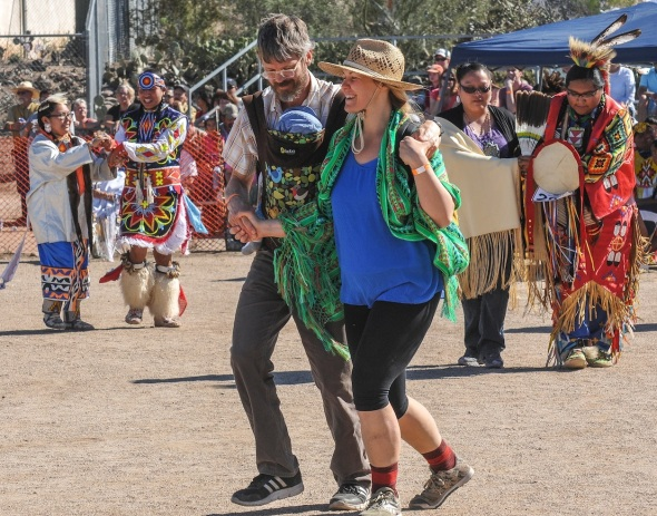 InterTribal Dance includes everyone who wants to dance...