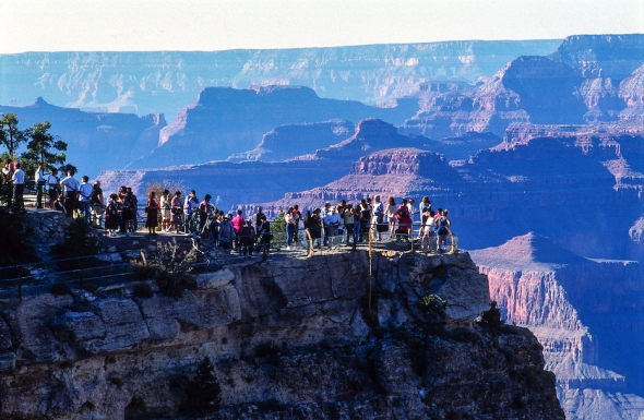 GRAND CANYON LOOKOUT-