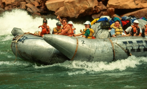 RAFTING COLORADO RIVER-